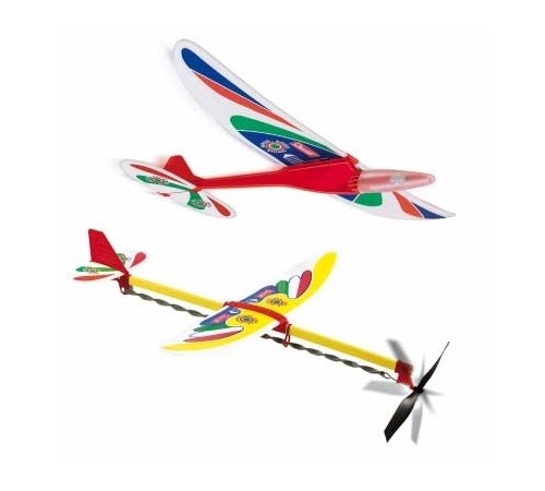 "Jucării pentru Copii - Magazin Online de Jucării ieftine in Chisinau Baby-Boom in Moldova quercetti 3585 set de 2 avioane ""sirius"" și ""libella"""