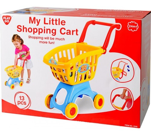"""playgo 3240 Корзина с продуктами """"Супермаркет"""""""