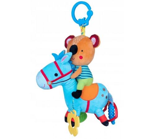"Jucării pentru Copii - Magazin Online de Jucării ieftine in Chisinau Baby-Boom in Moldova balibazoo 80419 jucarie-pandantiv muzical ""urs pe cal"""