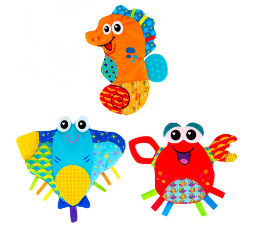 "Jucării pentru Copii - Magazin Online de Jucării ieftine in Chisinau Baby-Boom in Moldova tomy 27318 zornaitoare moale ""viața marină"" l27727 in sort."