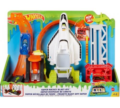 """Детскиймагазин в Кишиневе в Молдове hot wheels gtt75 Игровой набор """"Запуск ракеты"""""""