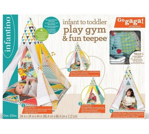 "Jucării pentru Copii - Magazin Online de Jucării ieftine in Chisinau Baby-Boom in Moldova infantino 005345 centrul de joc universal ""wigwam"""