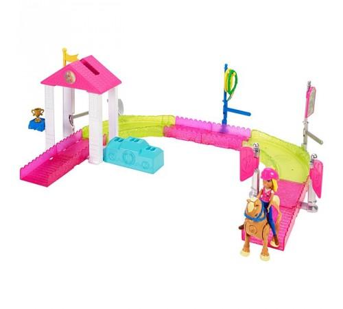 """barbie  Игровой набор Кукла """"Барби: В движении"""" - Гонки на пони fhv66"""