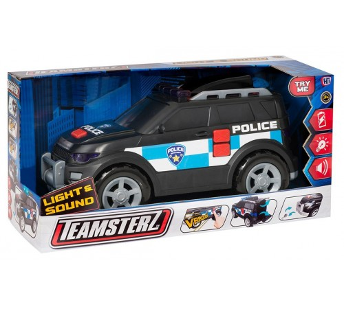 """teamsterz 1416841 Машина """"Полиция"""" со светом и музыкой"""
