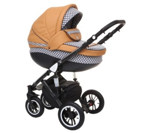 baby merc Коляска 2-в-1 faster 3 limited fiii/28b желтый/черный