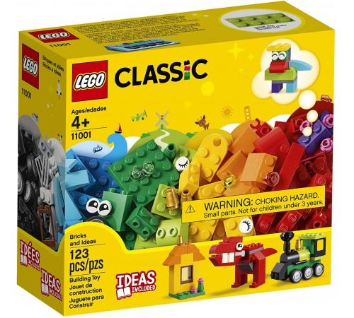 """lego classic 11001 Конструктор  """"Модели из кубиков"""" (123 дет.)"""