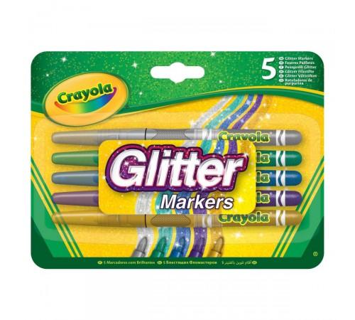 crayola 58-8645 Набор блестящих фломастеров (5 шт.)