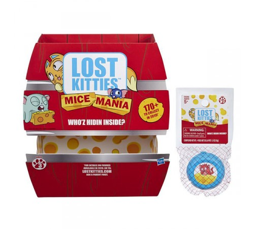 "lost kitties e6292 Игрушка ""mice singles"" в асс."