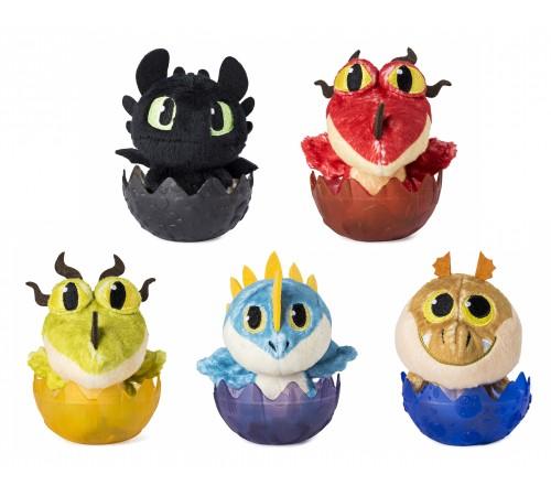 """dragons 6045084 jucărie moale în oul """"micul dragon"""" în sort."""