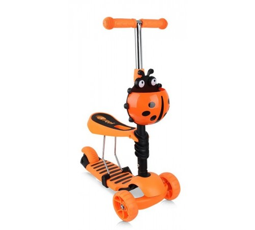 chipolino Самокат kiddy evo dskie0204or оранжевый