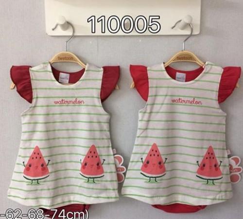 Одежда для малышей в Молдове  twetoon baby 110005 Боди-платье