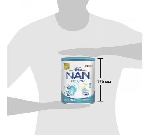 nestle nan  optipro 2 (6-12m) 400 gr.