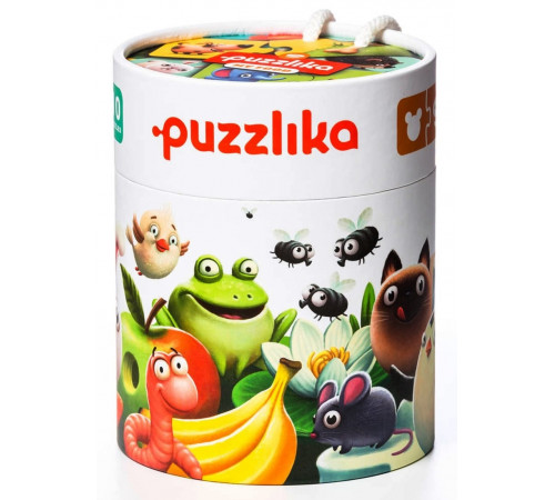 "Детскиймагазин в Кишиневе в Молдове puzzlika 12992 Развивающие пазлы ""Моя еда"""