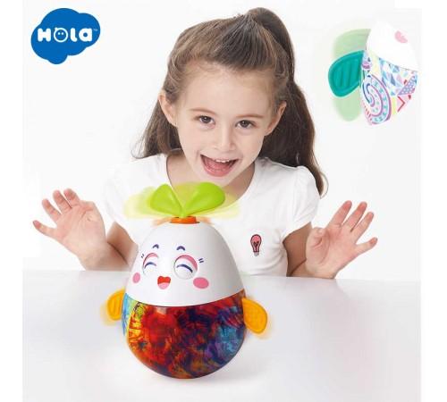 """hola toys 3132 Неваляшка """"Зайчик"""" в асс."""