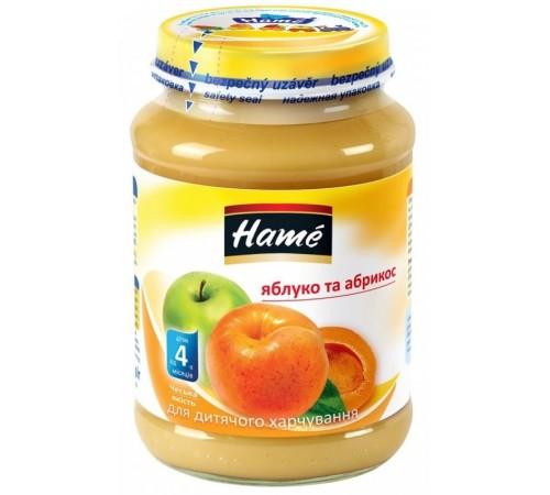 hame Пюре Яблоко с абрикосами 190gr. (4m+)