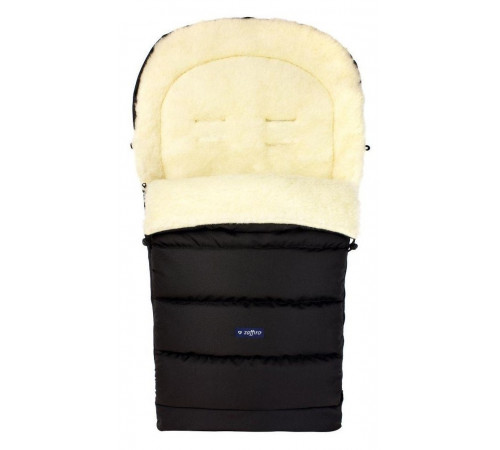 "womar zaffiro sac de dormit  igrow ""wool black"""