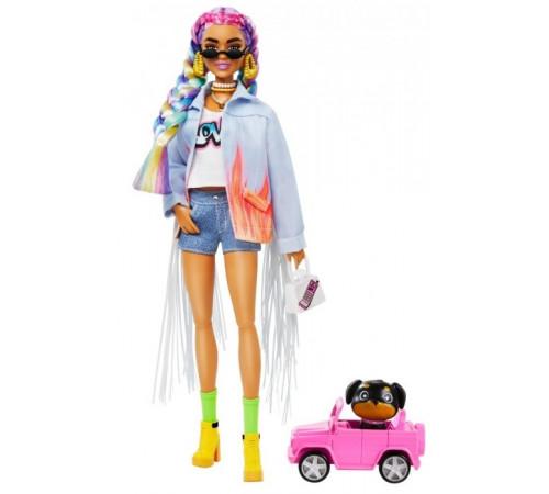 "Детскиймагазин в Кишиневе в Молдове barbie grn29 Кукла Барби ""Экстра"" с радужными косичками"