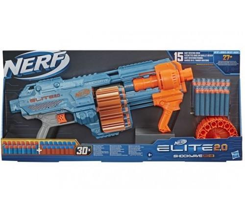 "nerf e9527 Бластер ""elite 2.0 shockwave rd 15"""
