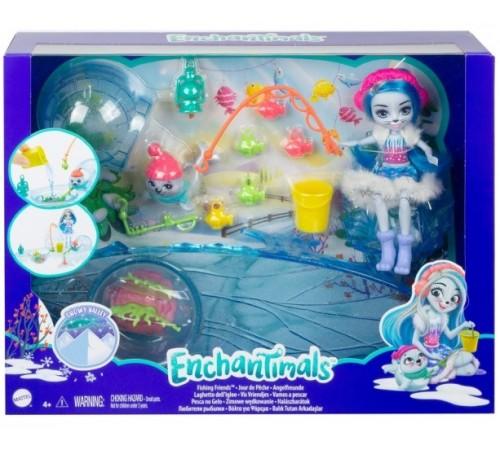 """Детскиймагазин в Кишиневе в Молдове enchantimals gjx48 Игровой набор """"Рыбалка с Тюленем Саше"""""""
