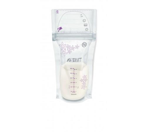 avent scf603 / 25 pachete pentru depozitarea laptelui 180ml 25pcs