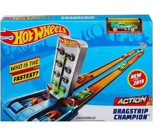 """hot wheels gbf82 Трек """"Чемпион, Мастер дрифта"""""""