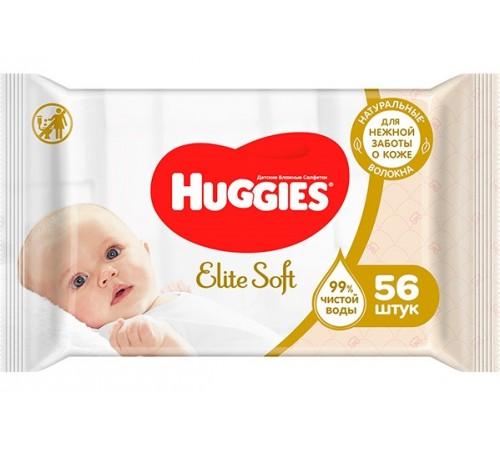 huggies Влажные Салфетки elite soft (56 шт.)