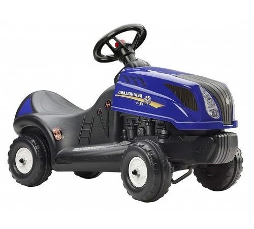 "falk 3070 Трактор-толокар ""holland"" синий"