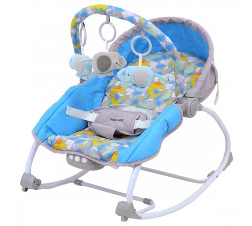 baby mix lcp-br212-18 di Шезлонг с музыкой и вибрацией голубой