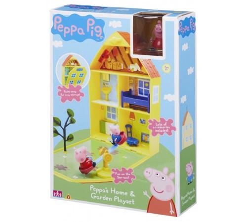 """peppa pig 06156 Игровой набор """"Дом Пеппы с лужайкой"""""""