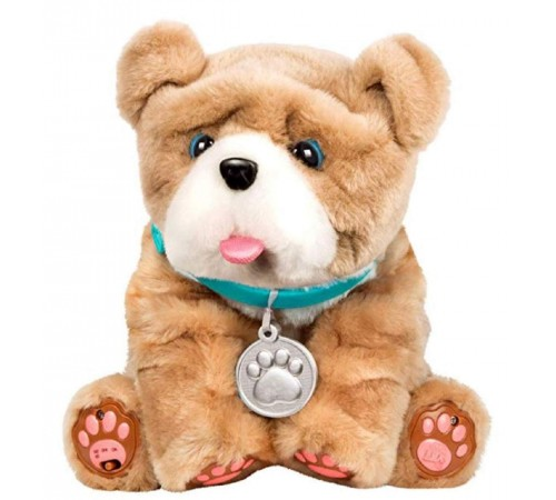 "little live pets 28669l Интерактивная игрушка ""Мой целующийся щенок"""