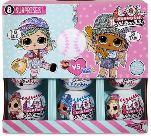 l.o.l. 570363 Игровой набор с куклой surprise! seria all-star в асс.