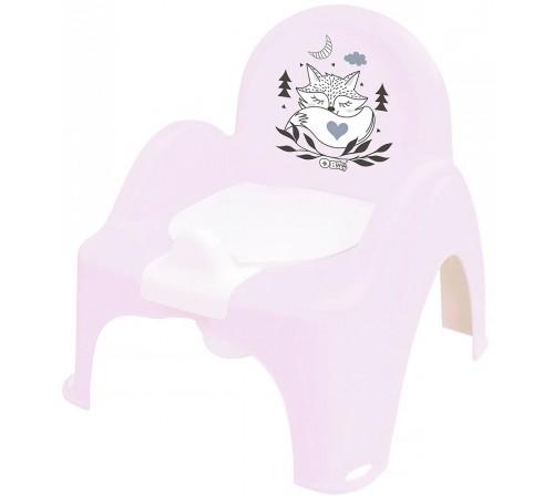 """tega baby Горшок-кресло """"Лисёнок"""" pb-lis-007-130 розовый"""