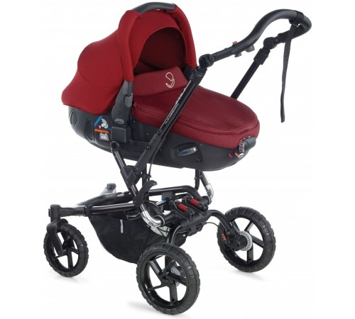 jane Коляска 2-в-1 crosswalk matrix travel system (5471 s53) красный