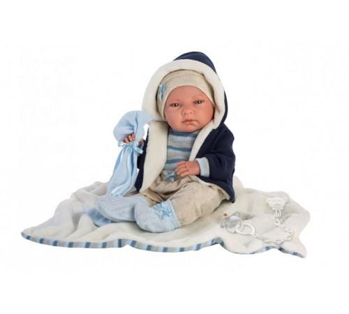 llorens Малыш Нико с покрывалом 73857 (35 см.)