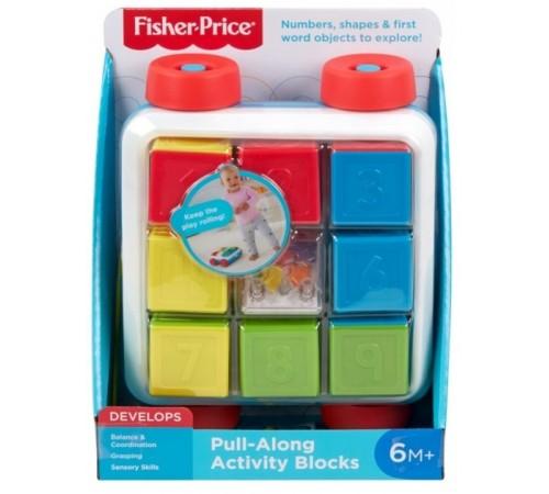 "fisher-price gjw10 Игрушка-каталка ""Яркие кубики"""