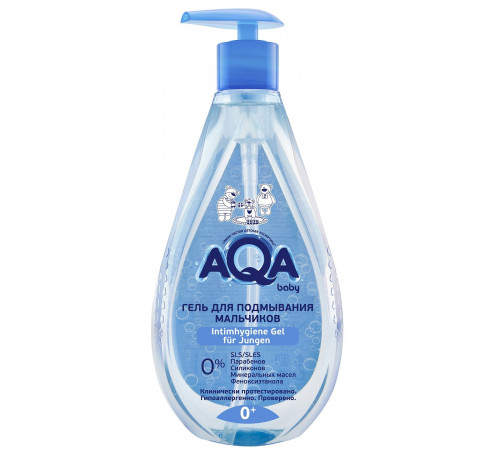 80.43 aqa baby gel pentru igiena intima băieţei (250 ml.)