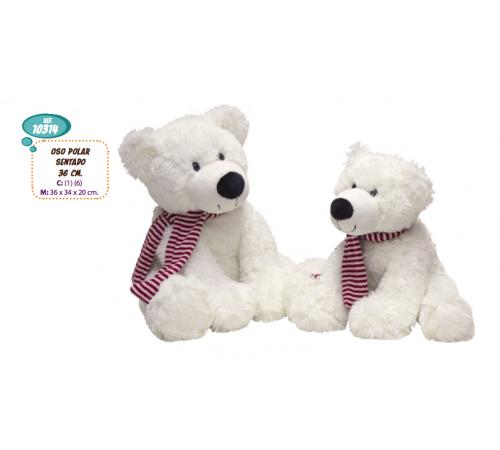 Детскиймагазин в Кишиневе в Молдове artesania beatriz 10314 Мягкая игрушка Медведь 36 см