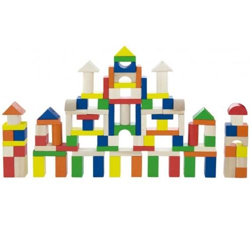 Детскиймагазин в Кишиневе в Молдове 3toysm kl03 50334 Деревянный конструктор (60 шт.)