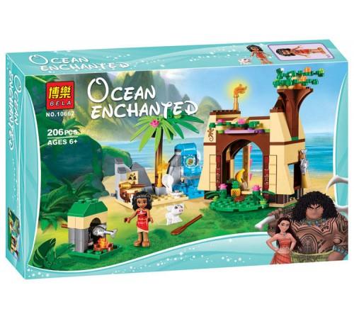 """bela РД02.153 Конструктор """"ocean enchanted"""" Приключения Моаны на затерянном острове (206 дет.)"""