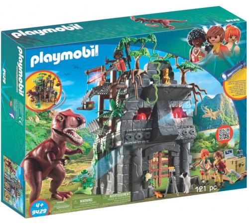 """playmobil 9429 Конструктор """"Скрытый храм с тираннозавром"""""""