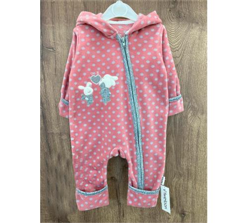 Одежда для малышей в Молдове twetoon 115062 Комбинезон флисовый для девочки (р.56-62-68)