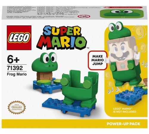 "lego super mario 71392 Конструктор ""Марио-лягушка"" (11 дет.)"