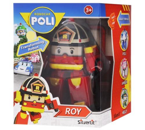 robocar poli 83170 Игрушка-трансформер Рой (10 см.)