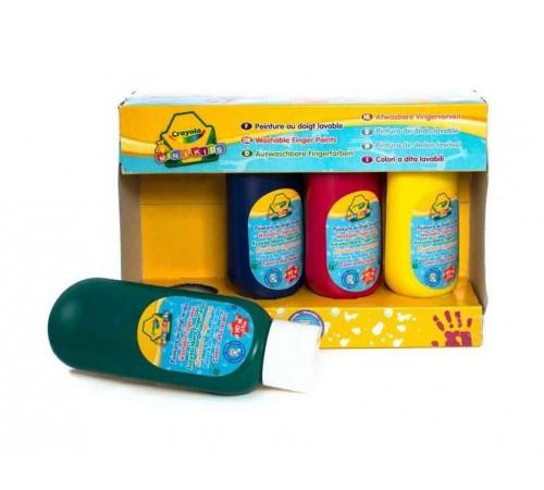 Детскиймагазин в Кишиневе в Молдове crayola 3239 Пальчиковые краски (4 шт.)