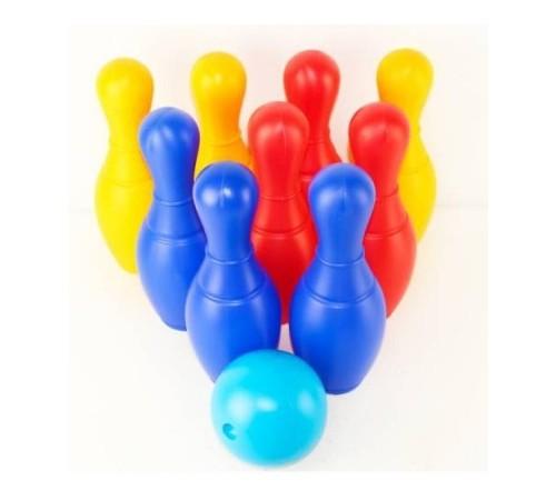 """Детскиймагазин в Кишиневе в Молдове colorplast 0732 Набор для боулинга """"Радуга 9"""""""