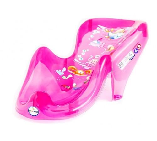 tega baby Сиденье для ванны антискользящае Аква aq-003-117 розовый