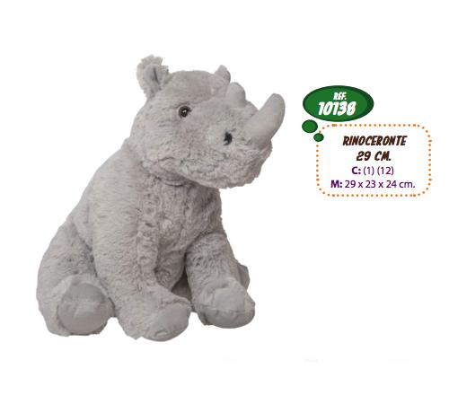 artesania beatriz 10138 Мягкая игрушка Носорог 29 см