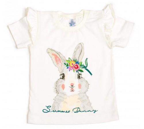 Одежда для малышей в Молдове veres 103-3.77-1.74 Футболка summer bunny р.74