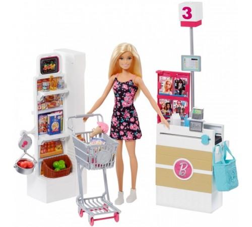 """Детскиймагазин в Кишиневе в Молдове barbie frp01 Набор с куклой """"В супермаркете"""""""
