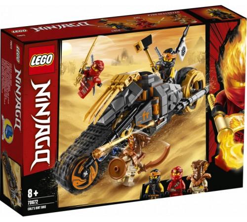 """lego ninjago 70672 constructor """"cole's rally bike"""" (212 el.)"""